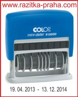Razítko Colop Mini-Dater S 120/DD