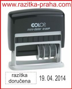 Razítko Colop Mini-Dater S 120/P