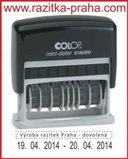 Razítko Colop Mini-Dater S 160/DD