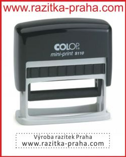 Razítko Colop Mini-Print S 110